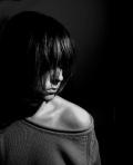 woman dark