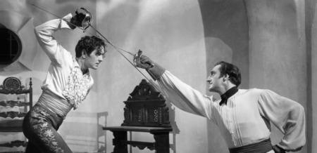 Duel Basil Rathbone Zorro