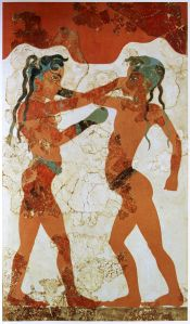 Boxing Greek Fresco